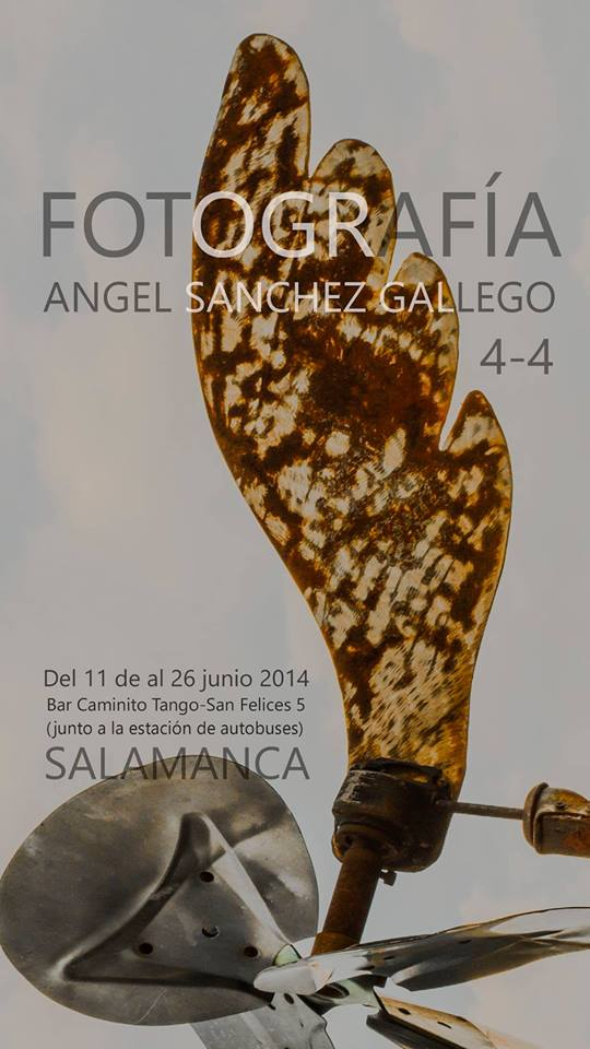 Alguna nueva perspectiva de  Jardines del Robledo en la exposición de fotografía de Angel Sánchez Gallego en Caminito Tango